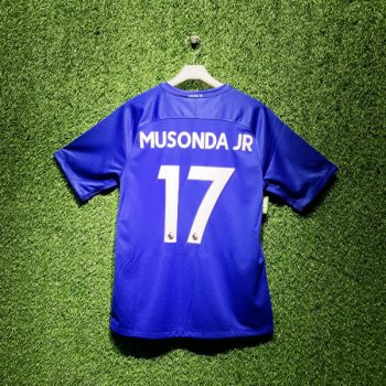 Nike Chelsea FC 17/18 (H) Men's Jersey 905513-496 With Nameset (#17 MUSONDA JR)