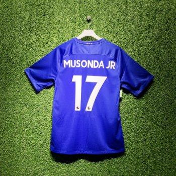 Nike Chelsea FC 17/18 (H) Men's Jersey 905513-496 With Nameset (#17 MUSONDA JR)