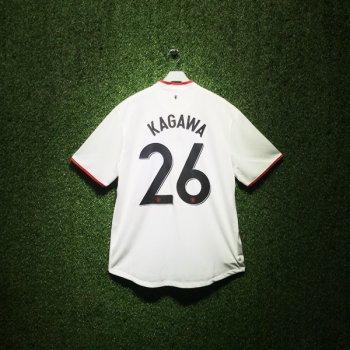 Nike Man Utd 12/13 (A) S/S 479281-105 With Nameset (#26 KAGAWA)
