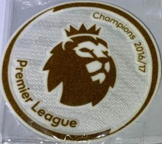 EPL 16/17 CHAMPION GOLD BADGE (Chelsea )
