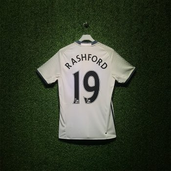 Adidas Manchester United  16/17 (3RD)  S/S AI6662 With Nameset (# 19 RASHFORD)