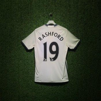 Adidas Manchester United  16/17 (3RD)  S/S AI6662 With Nameset (# 19 RASHFORD)
