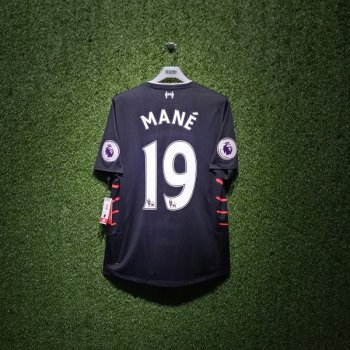 New Balance Liverpool FC 16/17(A) S/S JSY MT630007 With Nameset(#19 MANE) and EPL Badge