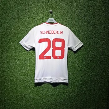 Adidas Manchester United 15/16 (A) S/S AI6363 With Nameset (#28 SCHNEIDERLIN)