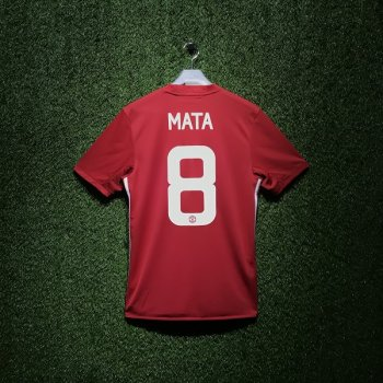 Adidas Man Utd 16/17(H) S/S JSY With Nameset(#8 MATA)
