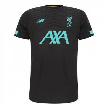 New Balance Liverpool 19/20 Pre Game Jersey BLACK MT931001PHM