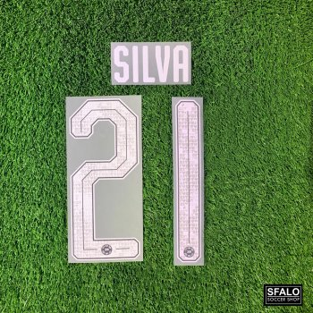 MAN CITY 19/20 L.GREY H/A AISA TOUR CUP #21 SILVA
