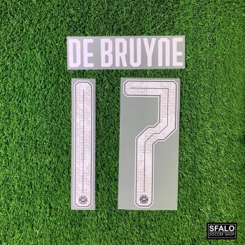 MAN CITY 19/20 L.GREY H/A AISA TOUR CUP #17 DE BRUYNE