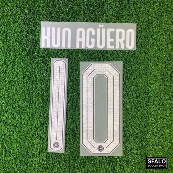 MAN CITY 19/20 L.GREY H/A AISA TOUR CUP #10 KUN AGUERO