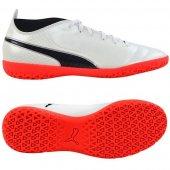 Puma One 17.4 IT White -Black-Coral 104079 01
