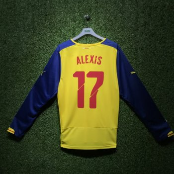 PUMA Arsenal 1415(A) JSY LS With Club Nameset(#17 ALEXIS)