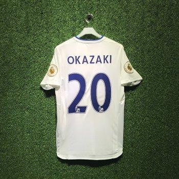 Puma Leicester 16/17 (3RD) S/S With Nameset(#20 OKAZAKI)+ EPL BADGE