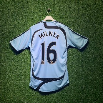 ADIDAS Newcastle United 2007/08 S/S With Nameset(#16 MILNER)