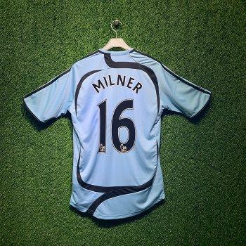 ADIDAS Newcastle United 2007/08 S/S With Nameset(#16 MILNER)