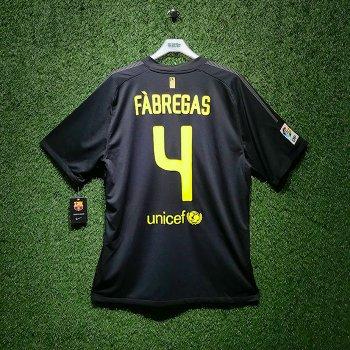 NIKE FC Barcelona 11/12 (A) JSY With Namset(#4 FABREGAS)