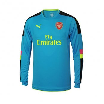 PUMA AFC 16/17 AWAY GK SHIRT LS 749706-22 WITH #33 CECH (EPL FONTS)