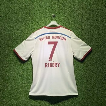 ADIDAS FCB 14/15 AWAY JSY WC S86760 with Nameset (# 7 Ribery)