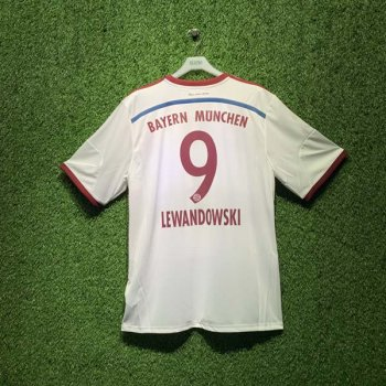 ADIDAS FCB 14/15 AWAY JSY WC S86760 with Nameset (# 9 Lewandowski)
