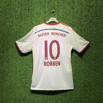 ADIDAS FCB 14/15 AWAY JSY WC S86760 with Nameset (# 10 Robben)