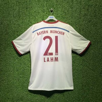 ADIDAS FCB 14/15 AWAY JSY WC S86760 with Nameset (# 21 LAHM)