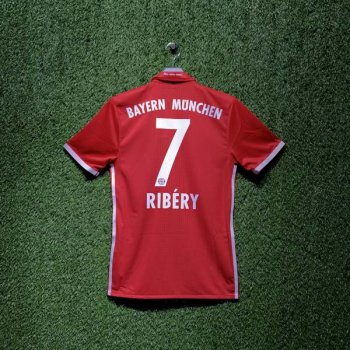 ADIDAS FCB 16/17 HOME SS JSY AU RD AI0039 with Nameset (#7 Ribery)