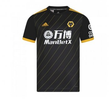 Adidas Wolves 19/20 (A) S/S JSY w/  EPL Printing + EPL Badge