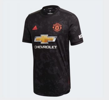 ADIDAS MUFC 19/20 3RD A JSY AU ED7391 with #EPL Nameset