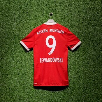 ADIDAS FCB 17/18 HOME SS JSY (AU) AZ7960 with Nameset(#9 LEWANDOWSKI)& BADGE