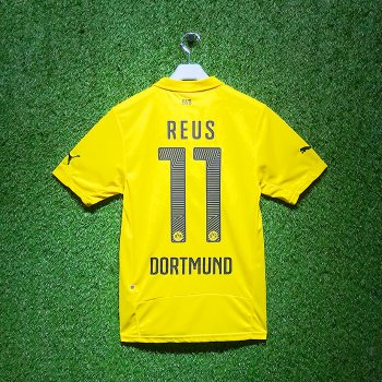 Puma BVB 14/15 Home Jersey With Nameset (#11 REUS)