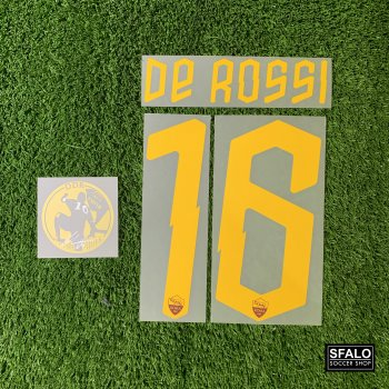 ROMA 19/20 H LEGEND #16 DE ROSSI + DDR PATCH