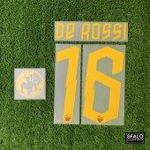 ROMA 19/20 H LEGEND #16 DE ROSSI + DDR PATCH