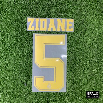REAL M 19/20 (H/A) GLD LEGEND #5 ZIDANE
