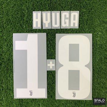 JUV 19/20 HOME WHT LEGEND #1+8 HYUGA CLUBNAME