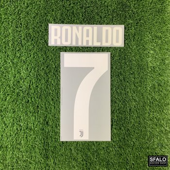 JUV 19/20 HOME WHT #7 RONALDO CLUBNAME