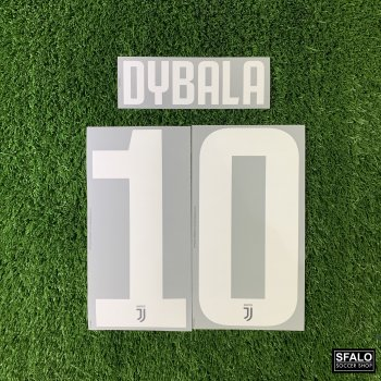 JUV 19/20 HOME WHT #10 DYBALA CLUBNAME