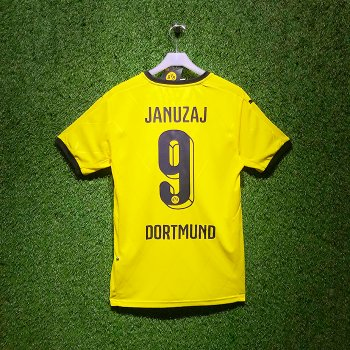 Puma BVB 15/16 Home Jersey With Nameset (#9 JANUZAJ)