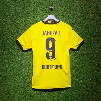 Puma BVB 15/16 Home Jersey With Nameset (#9 JANUZAJ)