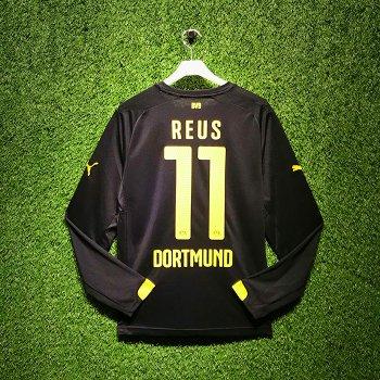 Puma BVB 15/16 Away LS Jersey With Nameset (#11 REUS )