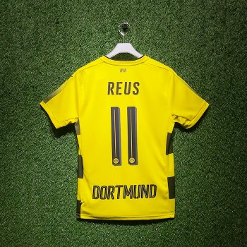 Puma BVB 17/18 Home Jersey With Nameset (#11 REUS)