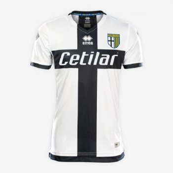 ERREA PARMA CALCIO 1913 19/20 (H) S/S JSY with Nameset & Serie A Badge