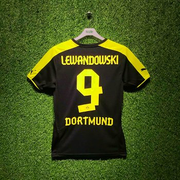Puma BVB 13/14 (A) S/S With Nameset (#9 LEWANDOWSKI)
