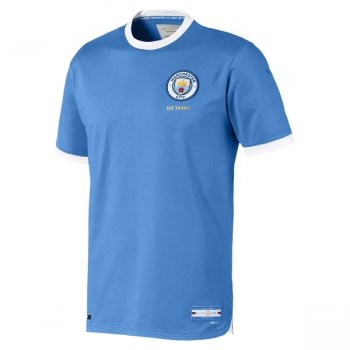 PUMA MAN CITY FC 19/20 (H) 125TH ANN AU S/S 756421-01 With Nameset and Comm Shield Badge