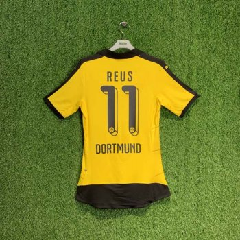PUMA BVB 15/16 (H) Shirt ACTV AU 747989-01 with Nameset (#11 REUS)
