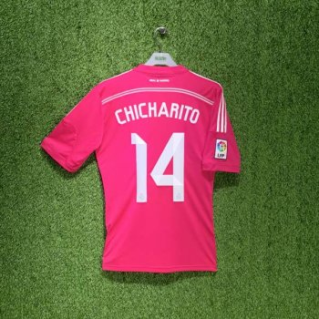 ADIDAS REAL MADRID 14/15 (AWAY) JSY M37315 with Nameset (# 14 CHICHARITO)