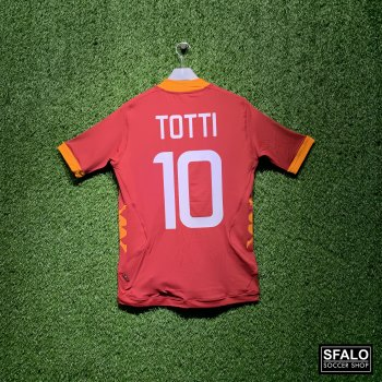 KAPPA ROMA 11/12 (HOME) SS JSY with Nameset (#10 TOTTI)