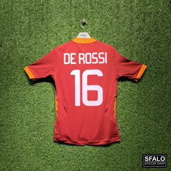 KAPPA ROMA 11/12 (HOME) SS JSY with Nameset (#16 DE ROSSI)