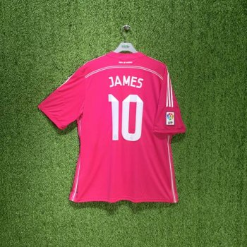 ADIDAS REAL MADRID 14/15 (AWAY) JSY M37315 with Nameset (#10 JAMES)