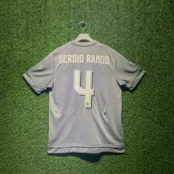 ADIDAS REAL MADRID 15/16 (AWAY) JSY WC AK2491 with Nameset ( #4 SERGIO RAMOS)