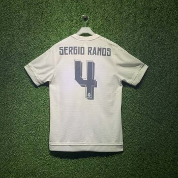 ADIDAS REAL 15/16 (HOME) S/S JSY WC AK2494 with Nameset (#4 SERGIO RAMOS)