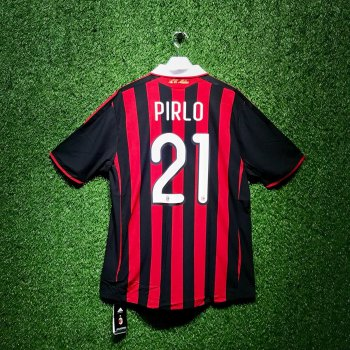AC MILAN 09/10 (HOME) S/S  E84210 with Nameset ( #21 PIRLO)